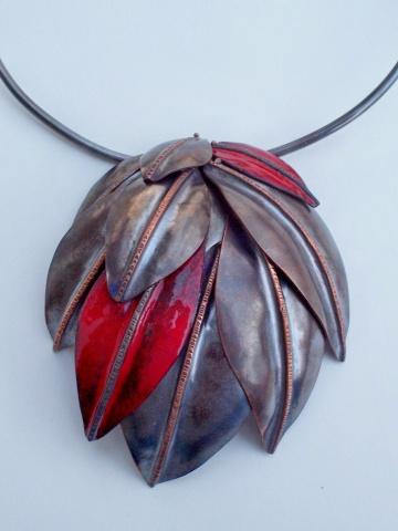 Autumn Neckpiece (Detail)