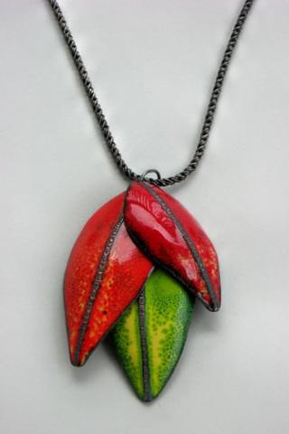 Three Leaf Pendant Commission