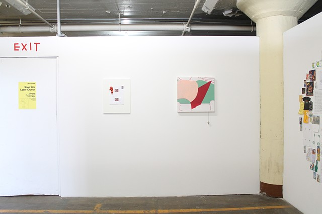 Soup Kite Laser Church (installation view)
