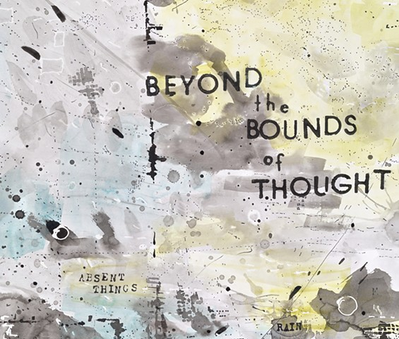 BEYOND the BOUNDS of THOUGHT, detail