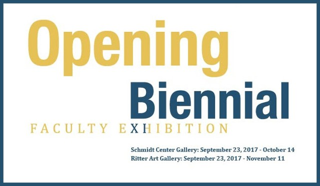 9/2017 FAU Biennial Faculty Exhibition