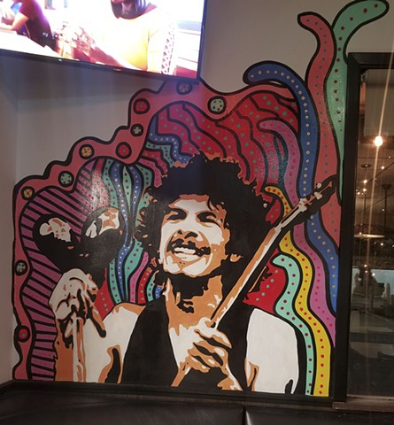 """Carlos Santana"" Inside Burger Culture in San Antonio Texas."