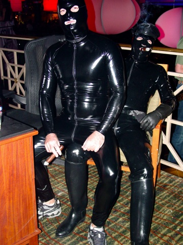 Rubber-Cigar Fetish Couple from South America