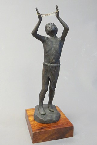 Hawaiian Boy, Hokule'a, Bronze