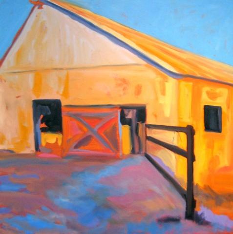 Orange Barn