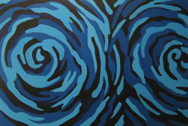 Blue Vortex I