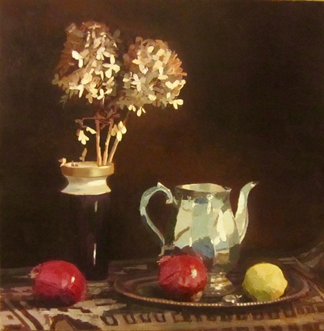 Still life with pitcher