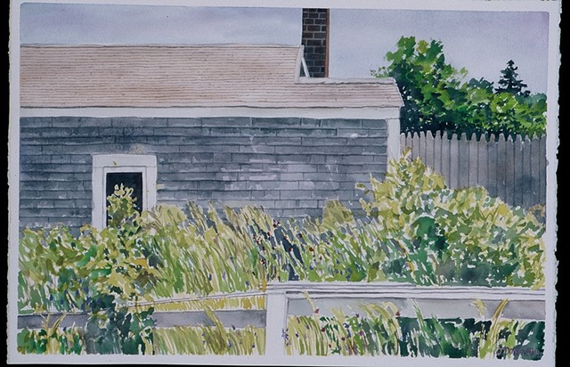 House on Nantucket Island