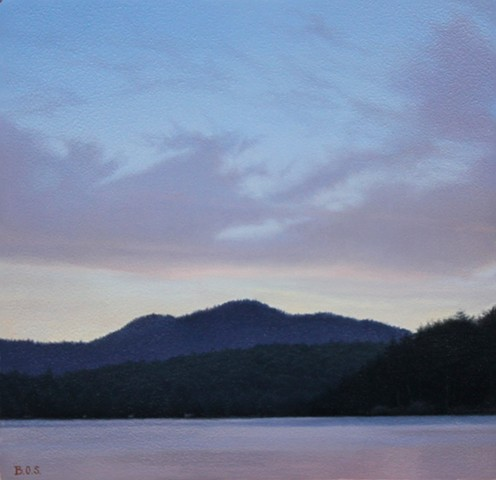 """Owl's Head Mountain at Dusk"""