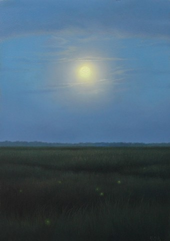 """Marsh Moonrise"""