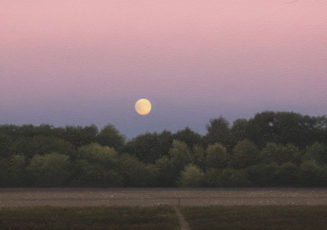 """Late Evening Moonrise"""