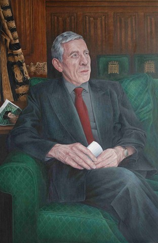 Portrait of Jack Straw MP, Lord Chancellor and Minister for Justice