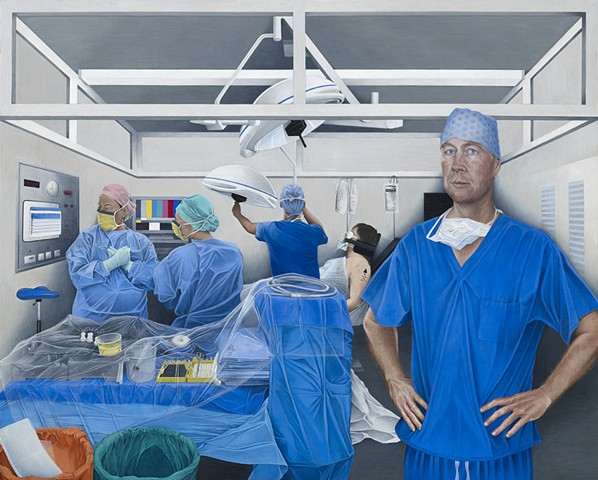 In Surgery: Portrait of Professor Andrew Carr