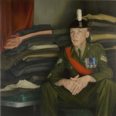 Portrait of Sergeant Martin Gregory