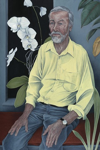 The Yellow Shirt: Portrait of Richard Morgan