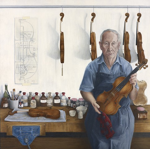 Nigel Harris, Violin Maker.