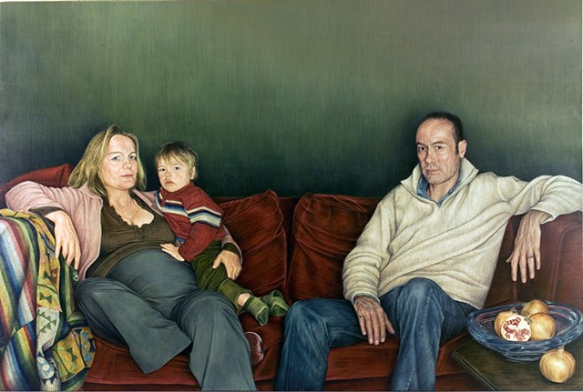 The Martins: Portrait of Emily, Julian, Sam and Olly