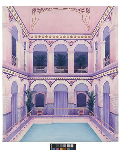 Inner Back Cover Design for the Criterion Collection's Edition of Wes Anderson's 'Grand Budapest Hotel'