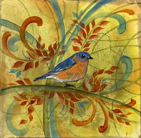 Tiny Bluebird