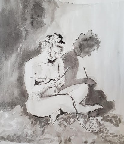 Life Drawing 2 / Expressive Ink Drawing