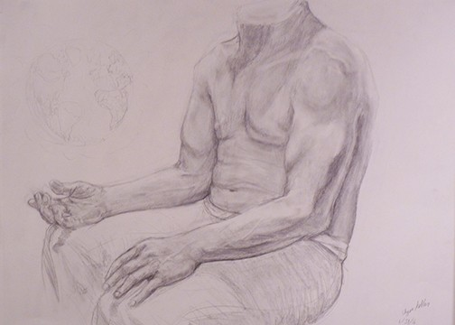 Figure Drawing 1 / Hands and Arms  Anonymous