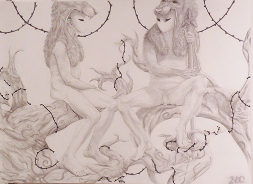 Figure Drawing 1/ Figures in Relationship Zariah Jaschke