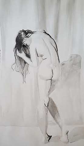Life Drawing 2/ Expressive Ink Drawing