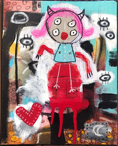 crude things, outsider art, childlike art, abstract painting, art brut, kunst art
