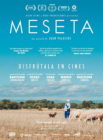 MESETA se estrena en cines el 23 de Octubre / INLAND theatrical release 23rd of October