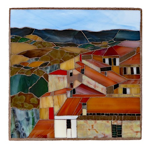 Memories of Tuscany: Volterra by Mary Berk Gidzinski