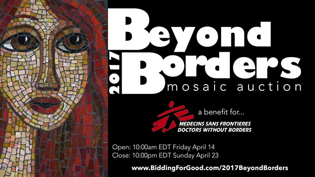 2017 Beyond Borders: mosaic auction