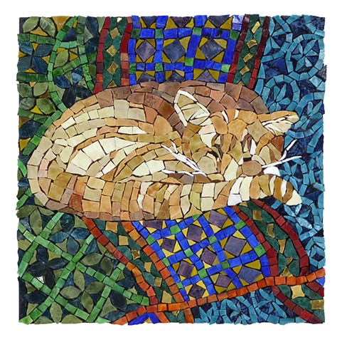 The Quilter's Cat by Marian Shapiro