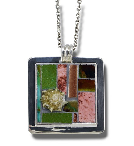Dreaming of the Beach-pendant by Karen Sasine