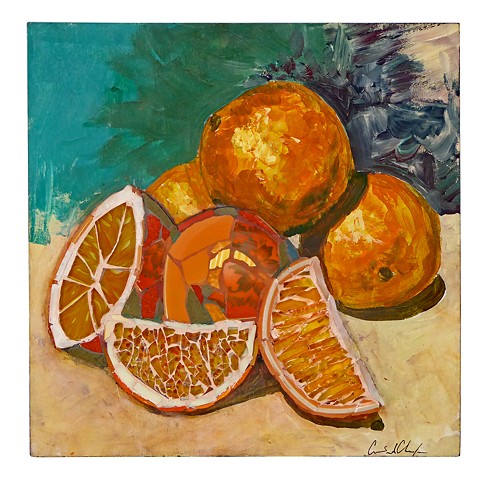 Oranges Five Ways by Candace L. Clough