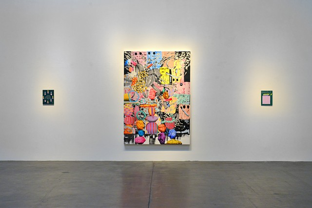 'Plastic Fantastic Lover' at Patrick Painter Install Shot 1