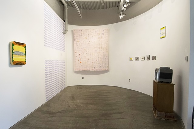 breakfast lunch & dinner installation view at Atlanta Contemporary