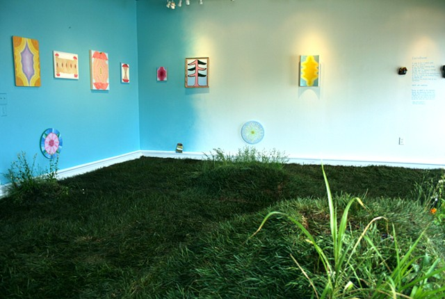 Earthbound Installation View 1
