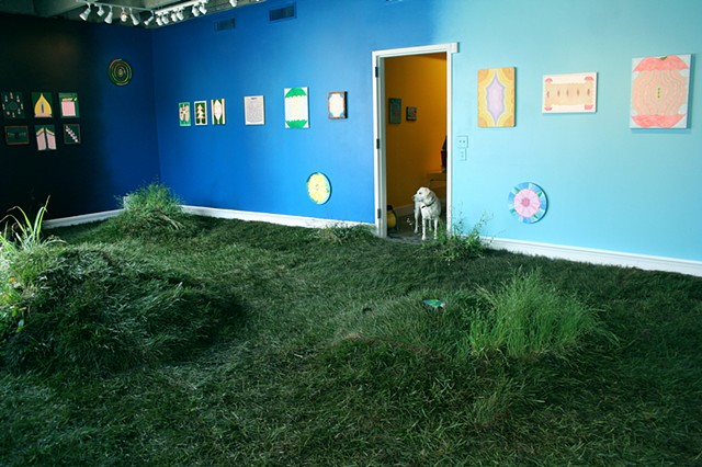 Earthbound Installation View 2