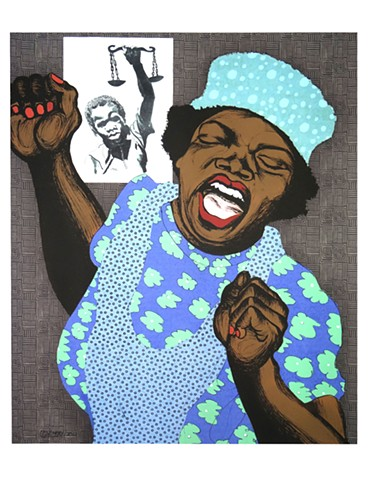 Emory Douglas  For Bobby Seale