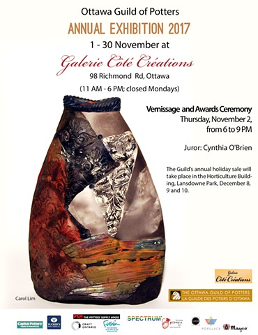 Ottawa Guild of Potters 2017 Annual Juried Exhibition