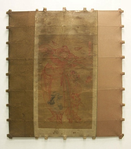 Michael Thompson Chicago artist, Decorative Kite, Pagoda Red