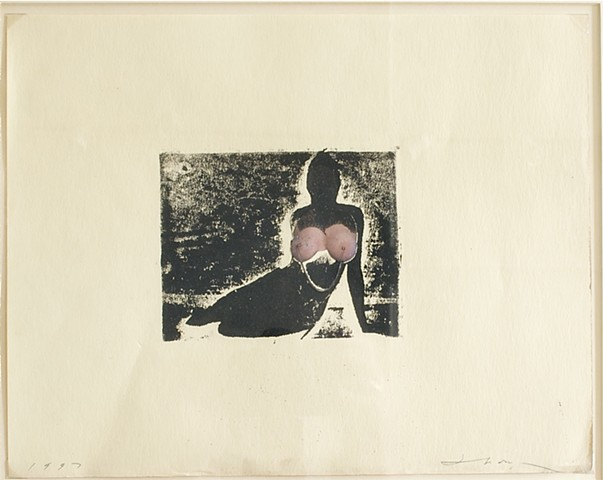 mono-print, erotic art, michael thompson