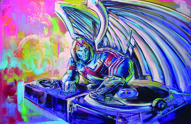 Dj Archangel commission