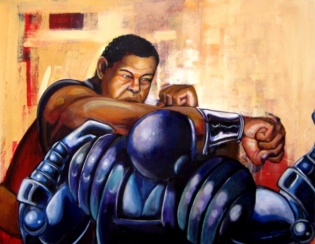 """Joe Louis: Robot Fighter"""