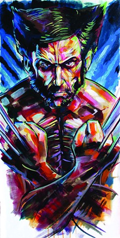 """SNIKT!!!"" Wolverine commission from Charlotte comicon 2014"