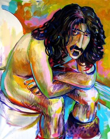 """Trouble everyday"" Frank Zappa commission"