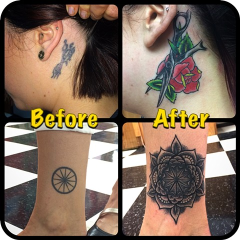 A couple of cover ups
