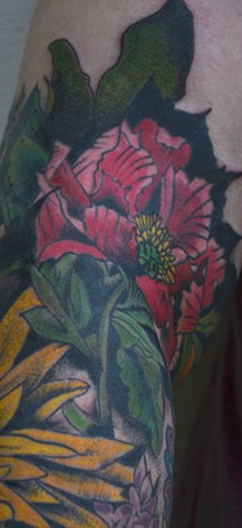 botanical sleeve