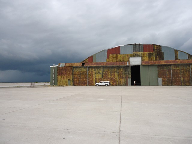 Hangar for the Enola Gay, East Wendover, UT