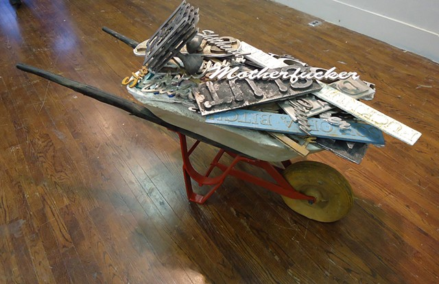 Wheel Barrow Full Of Cusswords (collaborative project with Toby Flores)